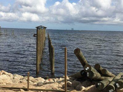 Dock Pililng Installation, Boat Dock Repair, Dock Construction, Boat Dock Contractors - Loyd Custom Marine Brevard County FL